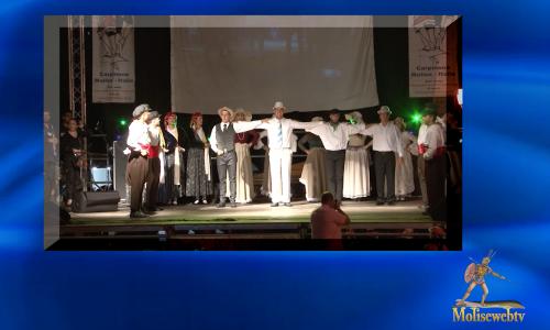 Gruppo folk greco al XIX° folk festival di Carpinone