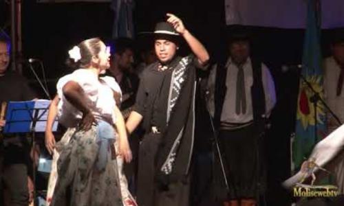 Gruppo folk dell'Argentina al XIX° folk festival di Carpinone