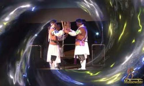 Esibizione del gruppo spagnolo al XIX° Folk Festival di Carpinone Agosto 2018