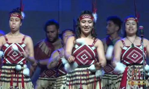 Gruppo folk Nuova Zelanda XIV Folk Festival Riccia