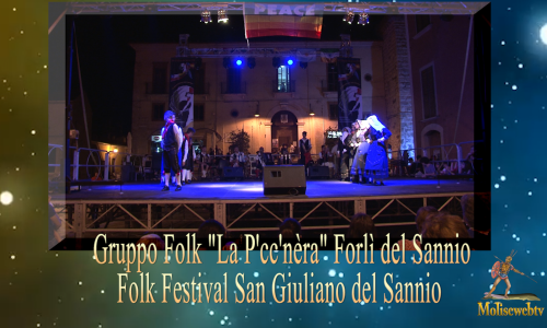 "Forli del Sannio gruppo  folk ""La P'cc'nèra"""