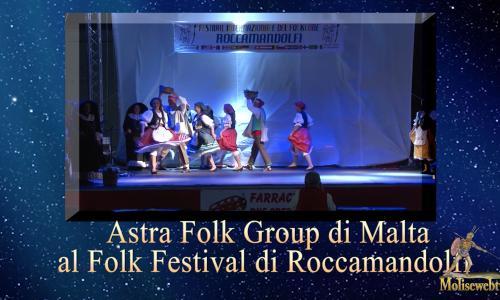 Astra folk Group al folk festival di  Roccamandolfi