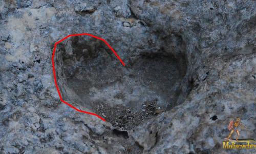 Il cuore scavato nella roccia di Vieste