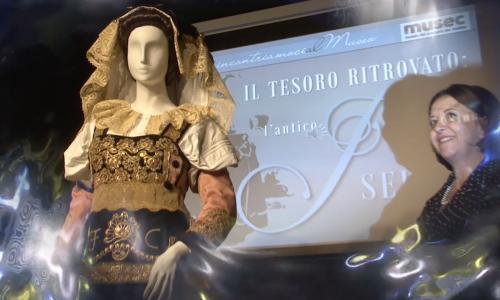 Il costume tradizionale  di Isernia entra al Musec