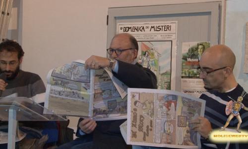 Presentazione fumetto trecento anni nascita di DI ZINNO