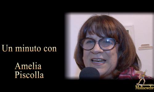 Un minuto con Amelia Piscolla