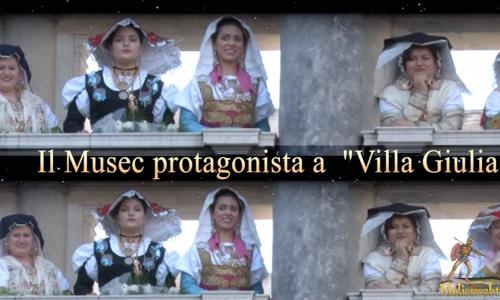 La vestizione della sposa del Musec a Villa Giulia Roma